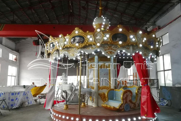 Family Amusement Park Antique Carousel Rides for Sale in Dinis