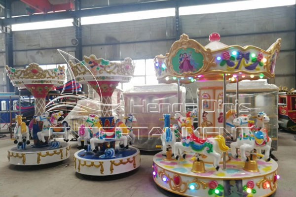 Outdoor Carnival Ride for Sale Ferris Wheel for Children Age 3 to 5 Manufactured by Dinis Factory