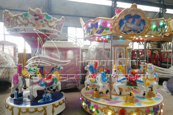 Portable/Moving Park Carousel Rides for Sale for Carnivals and Fairs