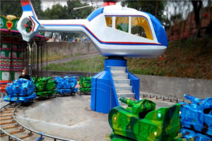 Amusement Helicopter Tanks War Ride for Sale