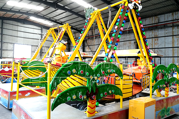 Amusement Park Rides Kids Rides Small Pendulum Rides for Sale for Parks Displayed in Dinis Plant
