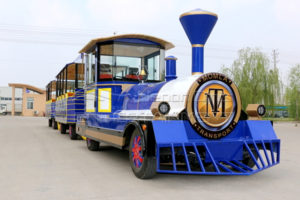 Antique Amusement Park Tourist Train Fairground Rides for Sale for Squares, Hotels, Resorts and Shopping Malls