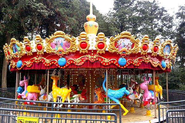 Antique Big Carousel for Sale from Dinis for Outdoor Amusement Parks and Theme Parks