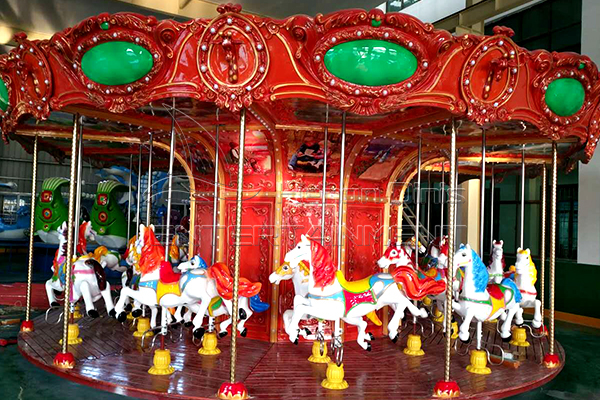 Buy the Most Popular Amusement Ride Antique Carousel Rides for Sale in the Market!