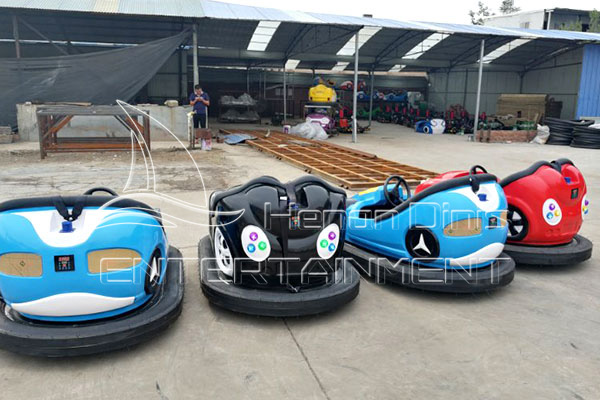 Choose Battery Bumper Cars rather than Sky-net and Ground-net Powered Electric Bumper Cars for Your Business!