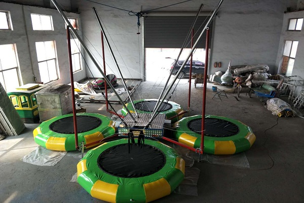 Buy Indoor Playground Trampoline Bungee Equipment at Low Prices for Shopping Malls