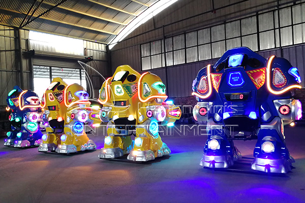 Buy Small Amusement Park Carnival Robot Rides for Sale for Park Rides