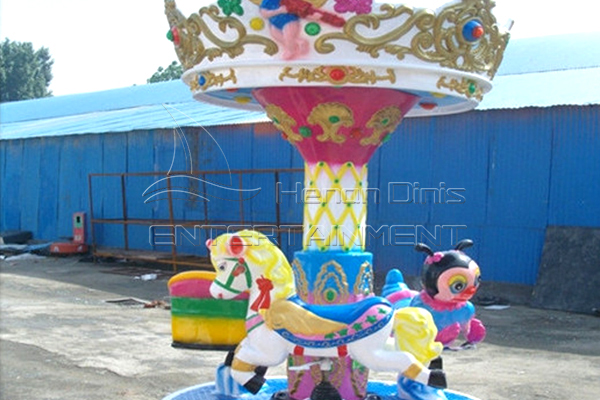 Buy Kids Coin Operated Carousel from Indoor Amusement Park Equipment Producer in China, Dinis