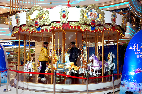 Cost-effective Amusement Fair Carousel Rides for Kids and Adults through Consideration