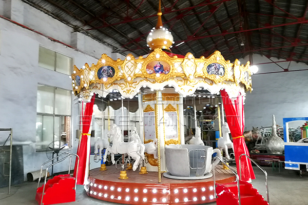 Dinis Customized Amusement Park Carousel Rides for Spain Customers