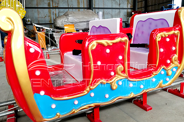 Dinis Enclosed Carriage Amusement Electric Track Train Rides
