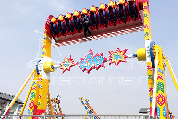 Dinis can Provide Safe Swinging Pendulum Rides for Amusement Park Owners