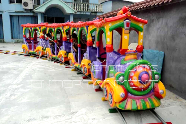 Disney Character or Cartoon Train Carnival Rides for Kids Manufactured in Dinis