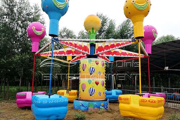 Extreme Family Swing Samba Balloon Rides Manufacturer in Outdoor Parks