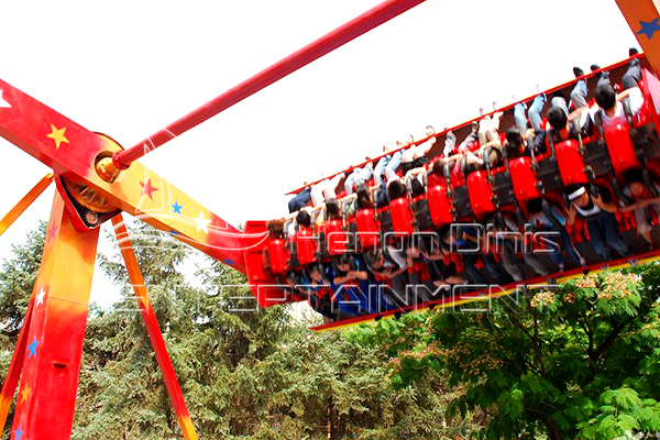 Extreme Thrill Top Spin Ride in Amusement Parks That Could Bring Great Fun