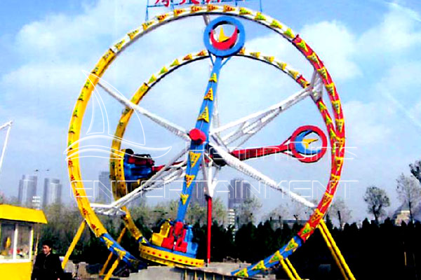 Small Backyard Playground Ferris Wheel for Children in Parks