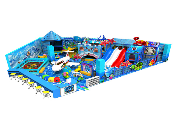 Indoor Playground Inflatable Water Park Rides with Slide for Sale in Dinis's Warehouse