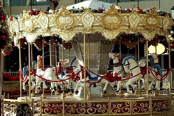 Get Amusement Moving Fairground Merry Go Round for A Bazaar from Dinis Group