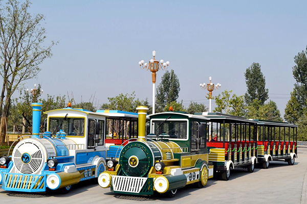 Giant Electric Tourist Park Train Rides for Sightseeing in Amusement Parks, Squares and Resorts, Hotels, etc.