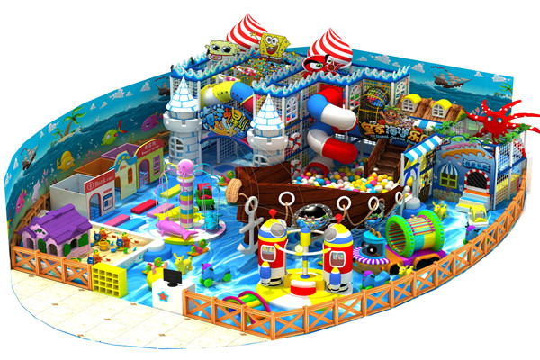 Hot Sale Indoor Playground Naughty Castle for Children in Dinis