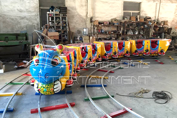 Indoor Track Train Rides for Kids Amusement Rides for Sale Operated in Parks