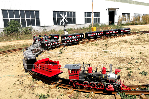 Kiddie Rides Small Amusement Park Trains with Tracks for Sale for Home and Backyard Entertainment