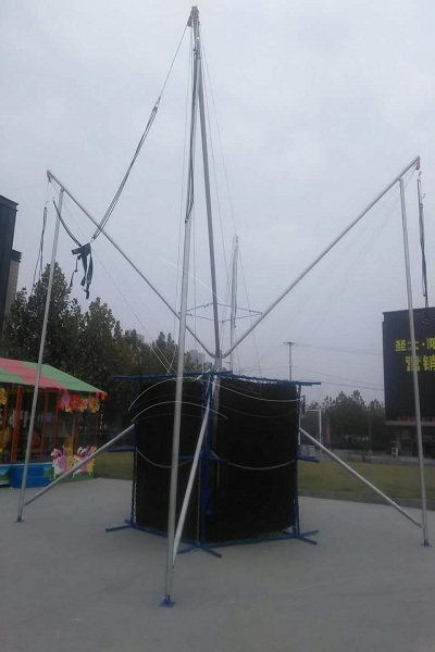 Kids Carnival Trampoline Bungee Rides for Sale in Dinis Amusement Manufacturer