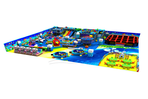 Low Kindergarten Indoor Playground Price is A Great Attraction for Amusement Parks Owners