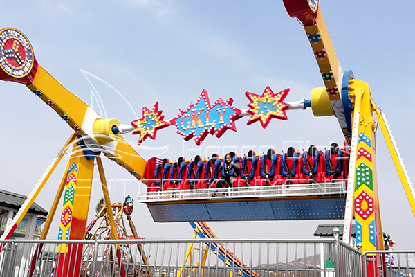 Low Top Spin Ride Costs for Purchasers in Dinis Amusement Company