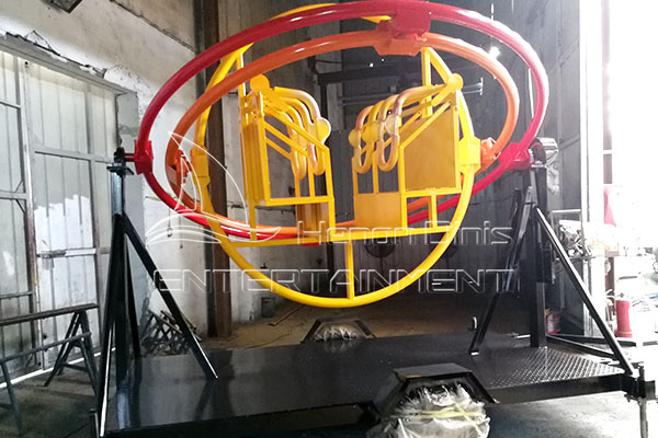 Machine Test of Gyro Extreme Human Gyroscope Produced by Dinis for An American Customer