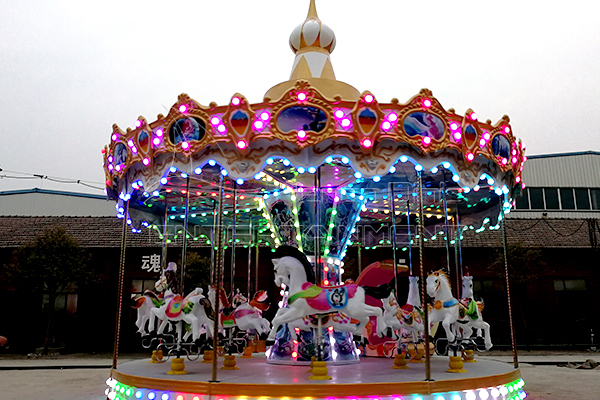 Purchase A Merry Go Round Rides for Kids for Commercial or Home Application from Dinis!