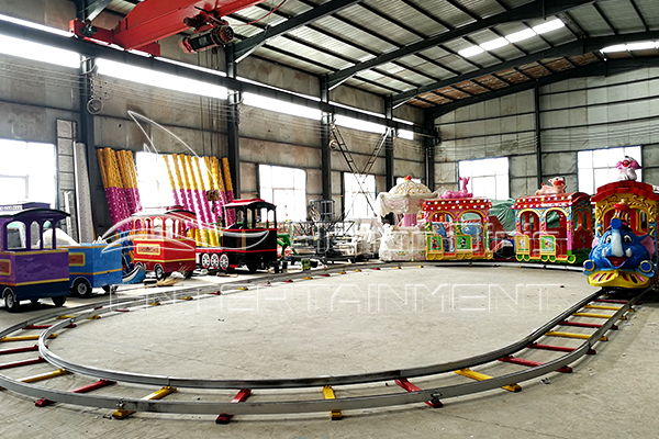 Mini Kids Amusement Park Track Train Rides for Sale for Your Home or Backyard Use