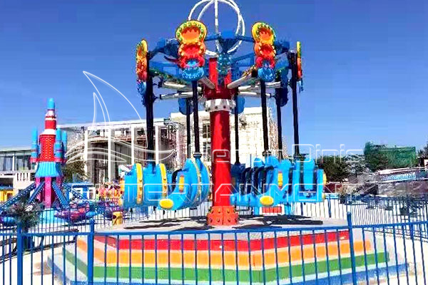Mobile Theme Park Rides for Sale with Trailer Manufactured by Dinis Factory
