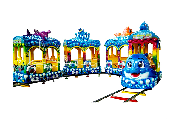 Small Rideable Ocean Train Rides for Kids to Have Fun in Indoor and Outdoor Places