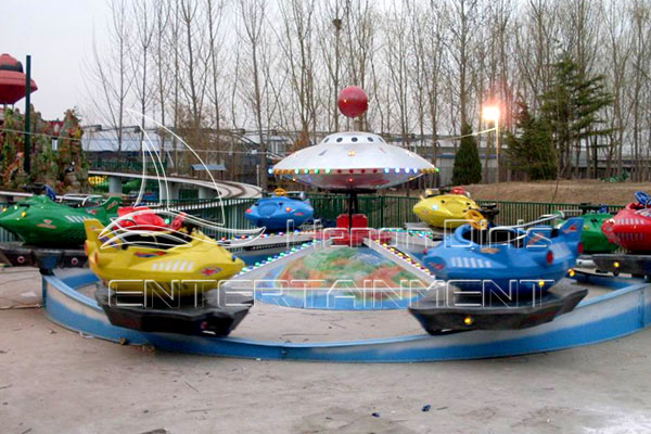 Outdoor Exciting Frisbee Amusement Park Rides for Sale Manufactured by Dinis