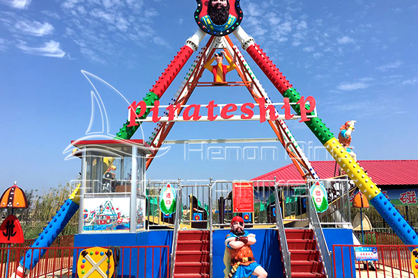 Pendulum Viking Pirate Ship Fairground Rides for Outdoor Amusement Parks in Dinis