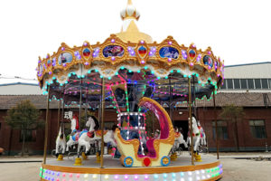 Portable Carousel for Sale from Dinis Mobile Carnival Rides Manufacturer in China