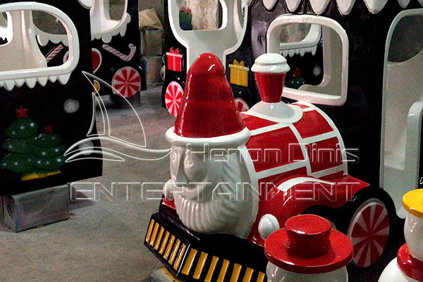 Santa Claus Style for Dinis Amusement Electric Christmas Train Rides