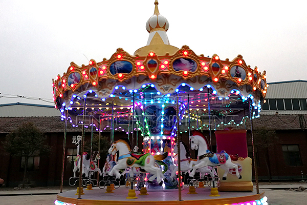 Shopping Mall Festival Merry Go Round Horse Carousel Amusement Ride for Sale
