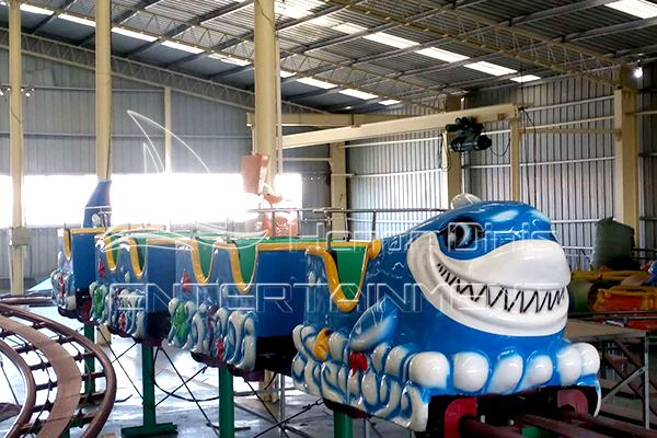 Order A Small Shark Roller Coaster Rides for Your Amusement Park from Dinis Manufacturer!