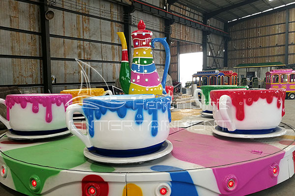 Buy Tea Cup Amusement Ride Funfair Ride Fairground Rides for Sale in Factory