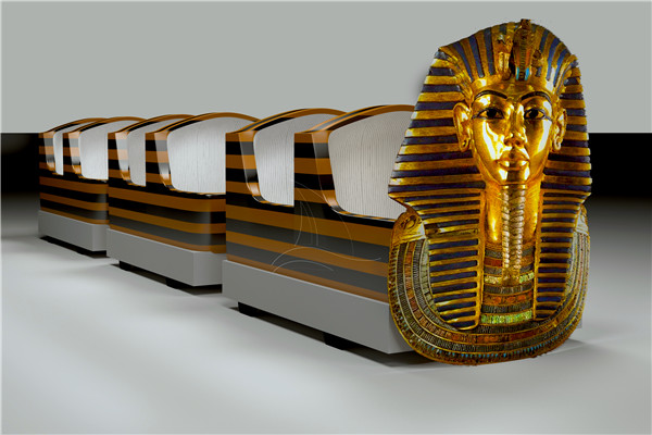 Theme Park Pharaoh Roller Coaster Rides for Toddle are Available for You to Choose from Dinis