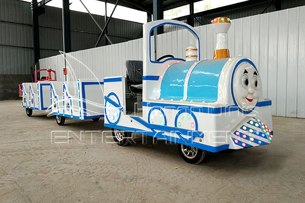 Thomas Fun Fair Trackless Train Rides for Sale from Park Train Manufacturer, Dinis
