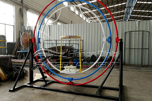 Three-dimensional Human Gyroscope for Sale Displayed in Dinis Plant