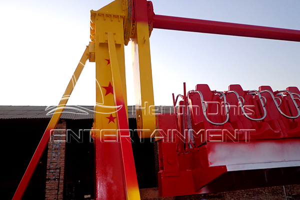 Top Spin Amusement Rides with Trailer Available to be Purchase from Dinis Factory