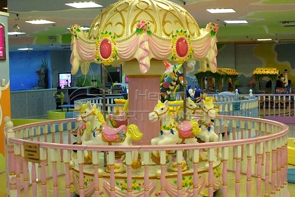 Vintage Carousel Rides Manufactured by Dinis are Popular for Business in Modern Society.