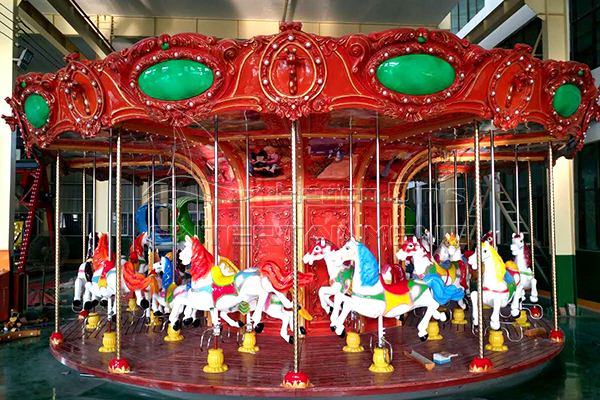 Dinis Vintage Merry Go Round Rides with Exquisite Design and Beautiful Lights at Low Prices for Sale